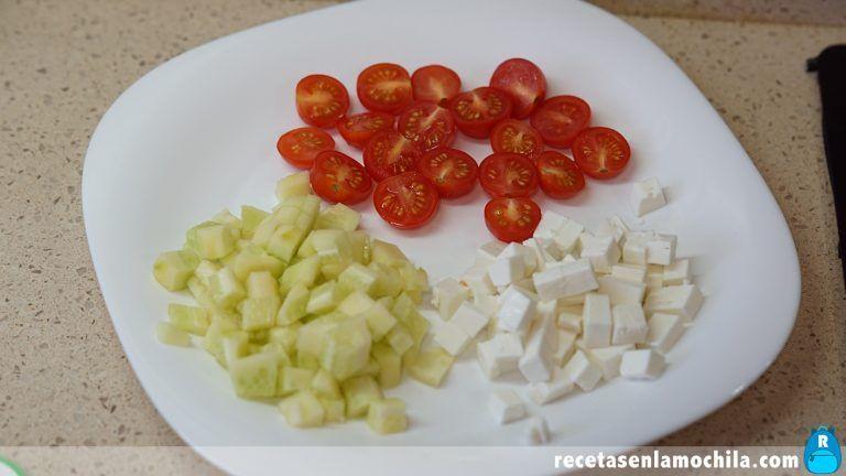 Cómo hacer ensalada de pasta