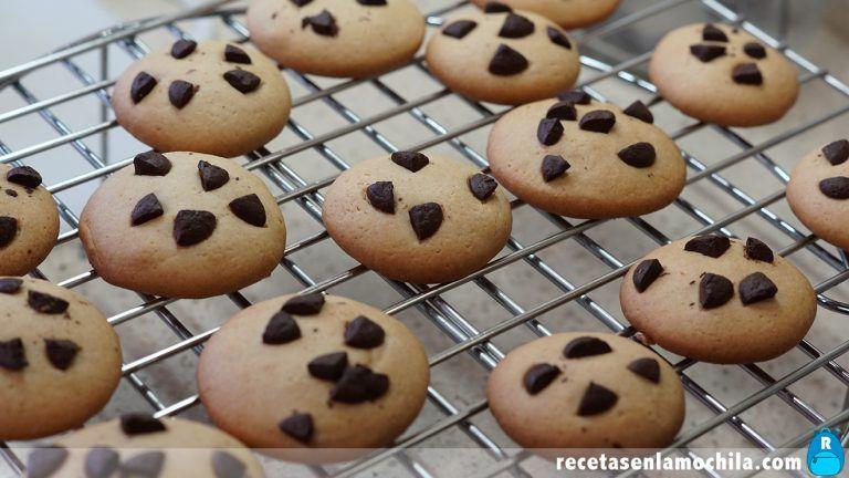 Receta de cookies sin mantequilla