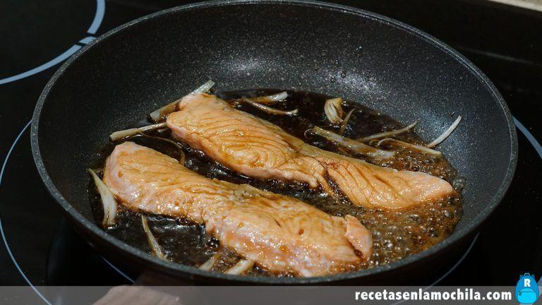 Cómo hacer salmón teriyaki