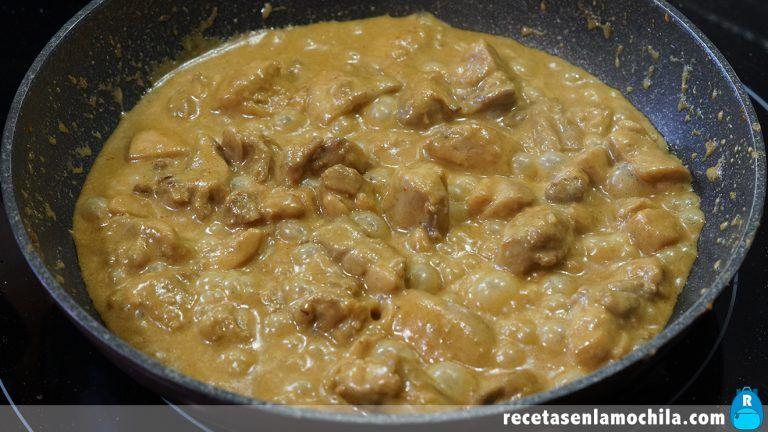 Cómo hacer pollo al curry