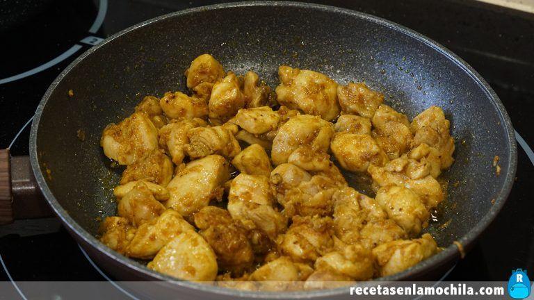 Cómo preparar pollo al curry