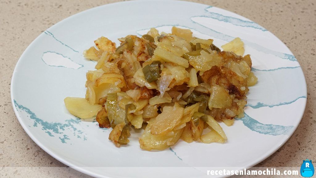 Receta de patatas a lo pobre