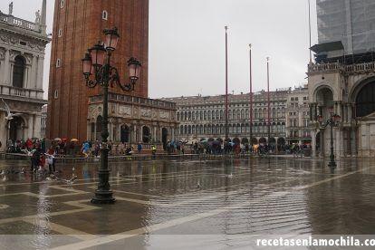 Acqua alta, las inundaciones de Venecia