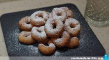 Rollos de anís fritos