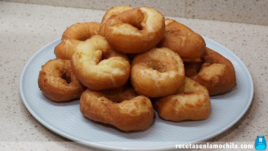 Receta de rollos de naranja fritos