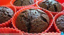 Muffins de chocolate con Thermomix