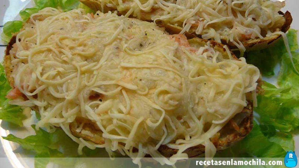 Receta de patatas rellenas para Thermomix