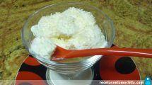 Helado de coco con Thermomix