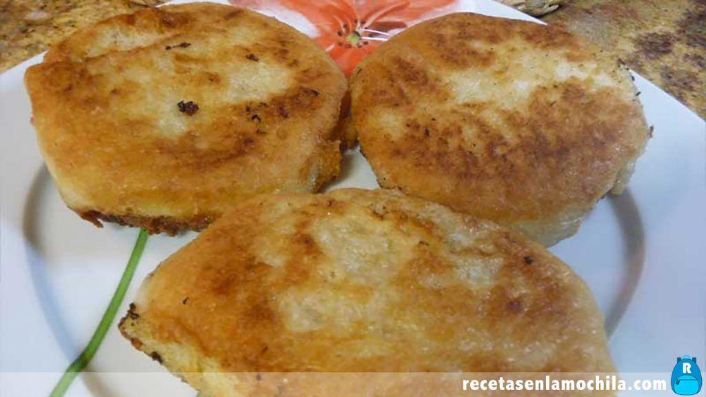 Pan chino al vapor frito con Thermomix