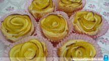 Rosas de manzana con Thermomix