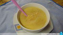 Crema de verduras con jamón york en Thermomix