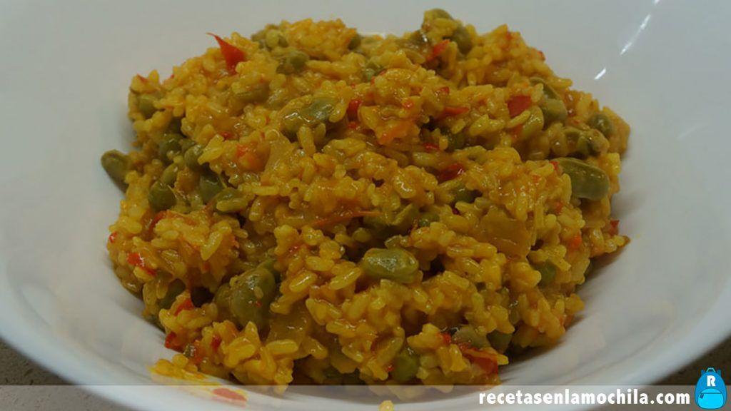 Receta de arroz con verduras en Thermomix